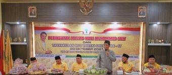 Peringati Maulid Nabi Muhammad SAW, Ketua DPD Golkar Situbondo Minta Kadernya untuk Tetap Istiqomah