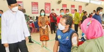 Kota Pasuruan Menuju Level 1, Gus Ipul Gencarkan Vaksinasi untuk Lansia