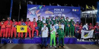 Atlet Kota Batu Bawa Jatim Juara Umum Cabor Paralayang