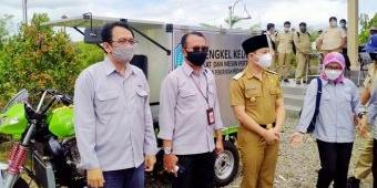 Dinas Pertanian dan Ketahanan Pangan Jatim Launching Bengkel Keliling Alsintan di Trenggalek