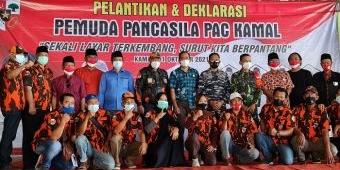 Syahrul Resmi Dilantik Jadi Ketua PAC PP Kamal