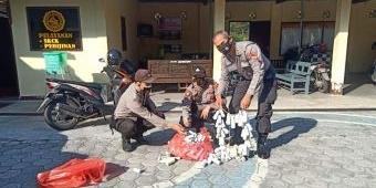 Di Blitar, 798 Petasan Siap Ledak Diamankan Polisi, 7 Orang Diamankan