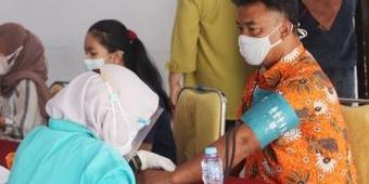 350 Atlet di Kota Blitar Ikuti Vaksinasi Covid-19