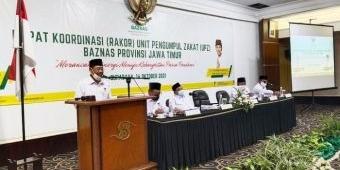 Ketua Baznas Jatim Ajak UPZ Semangat Penuhi Target Zakat