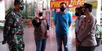 Wali Kota Batu Tinjau Penerapan PPKM Darurat di Jatim Park dan Alun-Alun