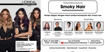 L'Oréal Professionnel Gelar Peluncuran Virtual Smoky Hair Meriah Dengan Gebyar Puluhan Hadiah