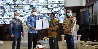Amankan Saluran Listrik ke Madura, PLN dan Pemkot Surabaya Lakukan MoU