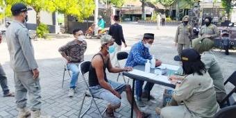 Masih PPKM Level 3, Polres Ngawi Tetap Gelar Operasi Yustisi Penegakan Prokes