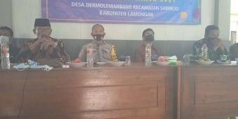 Pengisian Jabatan Sekdes Dermolemahbang, Camat Sarirejo Minta Dilakukan Secara Transparan