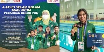 Kado Terindah HUT Jatim: Wushu Juara Umum, Tenis Lapangan Sapu Bersih Emas, Selam Kolam Pecah Rekor