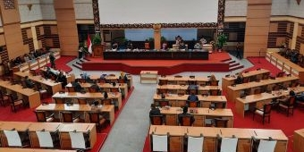 Gus Barra Lega, Dewan Setujui Raperda P-APBD Mojokerto TA 2021