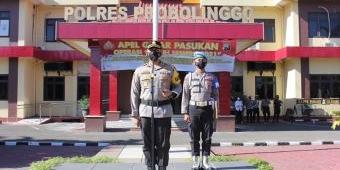 Pimpin Apel Gelar Pasukan Operasi Patuh Semeru 2021, Kapolres Probolinggo Paparkan 4 Poin Sasaran