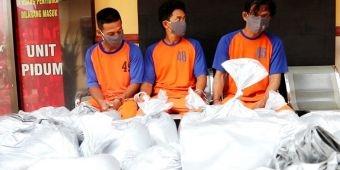 Polres Jombang Tangkap Tiga Orang Pembuat Petasan, Satu Residivis