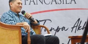 Wali Kota Kediri Inisiasi Gerakan Kebangsaan Mengumandangkan Mars Pancasila
