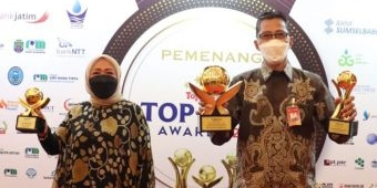 Pemprov dan Bank Jatim Borong Penghargaan di Ajang Top BUMD Award 2021