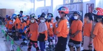 Jaring Bibit Atlet Sepatu Roda, Perserosi Kota Madiun Gelar Pendekar Inline Skate Cup I