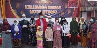 Songsong Idul Fitri 1442 H, Noto Utomo Santuni Ratusan Anak Yatim