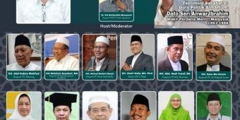 Nanti Malam, Dato Anwar Ibrahim Testimoni pada 40 Hari Wafat Dr Mif, Warek Unhasy Tebuireng