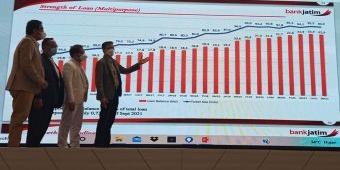Triwulan ketiga 2021, Aset Bank Jatim Tembus Rp101 Triliun