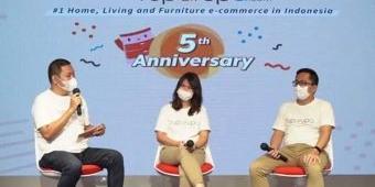 Masuki Usia ke-5 Tahun, Ruparupa Berikan Cashback dan Diskon Menarik untuk 67 Ribu Produknya