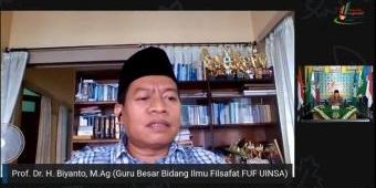 Ikuti Webinar SDM Limas Surabaya, Prof Biyanto: Jangan Terpengaruh Paham Radikal