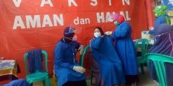 Komitmen Lawan Covid-19, Rumah Zakat-UPT Puskesmas Bulangan Haji Gelar Vaksinasi Gratis