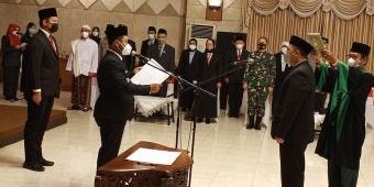 Resmi Jabat Sekda Gresik, Achmad Washil Siap Dukung Program Nawa Karsa