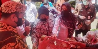 Pedagang dan Pelaku IKM Mojokerto Sambut Baik Inovasi Pelayanan Semar, Petrug, Gareng, dan Bagong