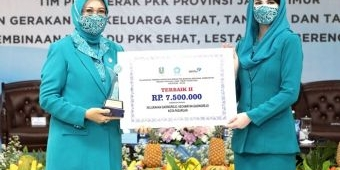 PKK Kota Pasuruan Borong Dua Penghargaan Tingkat Provinsi Jatim