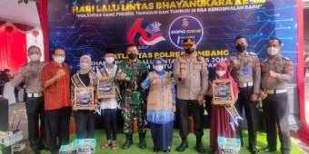 Polres Jombang Asuh Puluhan Anak Yatim Piatu Korban Covid-19