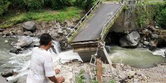Bangun Abutment Jembatan Ngipik, Pemkab Pasuruan Anggarkan Rp 600 Juta Lebih