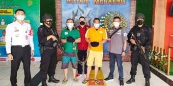 Rutan Surabaya Bantu Pengawalan Pemindahan Bandar Narkotika Saleh Kurap ke Penjara Nusakambangan