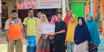 Rumah Zakat Resmikan Bantuan Wakaf Sumber Air Bersih di Pamekasan