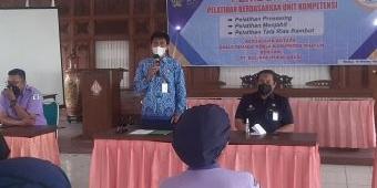 Dukung Pemulihan Ekonomi, Disnaker Kabupaten Madiun Gelar Pelatihan Berbasis Kompetensi