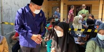 Sasar Santri, Nasdem Gelar Vaksinasi Gelombang Tiga di Kabupaten Mojokerto