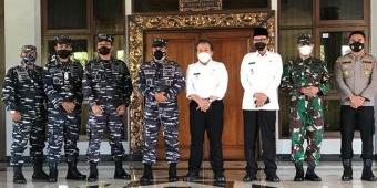 Sambut Komandan Lantamal V, Bupati Hendy: Kami Sangat Bangga TNI Peduli Masyarakat