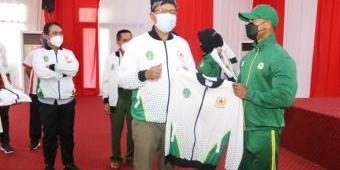 Lepas Atlet ke PON XX Papua, Gus Ipul Ingin Kota Pasuruan Jadi Gudang Atlet Berprestasi Lagi