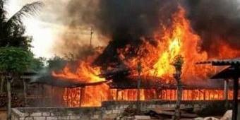 Dua Rumah dan Kandang Sapi di Tuban Hangus Terbakar, Korban Telan Kerugian Ratusan Juta
