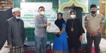 LAZISNU Surabaya Gandeng BRI Salurkan Paket Sembako kepada Santri Ponpes Sunan Giri