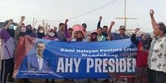 Nelayan Pantura Deklarasi Dukungan untuk AHY Sebagai Calon Presiden RI 2024