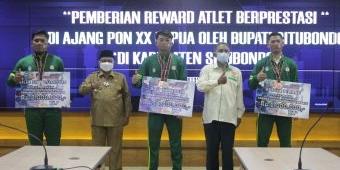 Bupati Situbondo Beri Reward Tiga Atlet Peraih Medali di PON XX Papua
