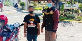 Peduli Warganya, TRC Dinsos Kota Kediri Kawal Remaja ODGJ Kontrol ke RSJ Lawang Pasca Opname