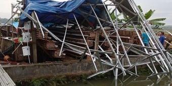 BPBD Blitar Data Jumlah Bangunan Rusak Akibat Hujan Deras Disertai Angin Kencang