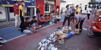 Polres Bangkalan Amankan 142 Petasan di Tiga Lokasi, Ukuran Besar Terdengar Hingga 1 Km
