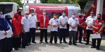 Momentum Dirgahayu ke-76, PMI Tuban Suplai Air Bersih di Daerah Kekeringan