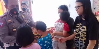 Jumat Berkah, Satlantas Polres Ngawi, Santuni Anak Yatim Piatu Terdampak Covid-19