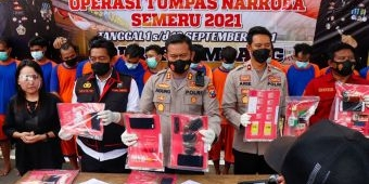 Operasi Tumpas Narkoba, Polres Jombang Ciduk 26 Tersangka