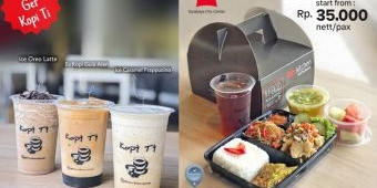 Ibis Surabaya City Center Tawarkan Meal Box Lengkap dengan Porsi Besar dan Harga Murmer