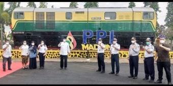 Wali Kota Madiun Resmikan Monumen Kereta Api di PPI, Lokomotif Lama Akan Dibuat Tempat Wisata
