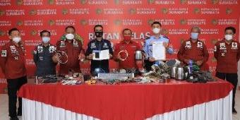 130 Petugas Gabungan Geledah 3 Blok Hunian Rutan Medaeng